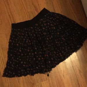 Free People floral skirt Small